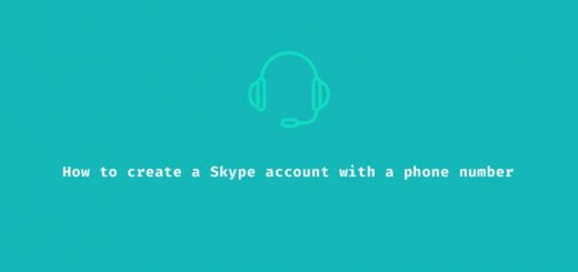 How to create Skype account with phone number