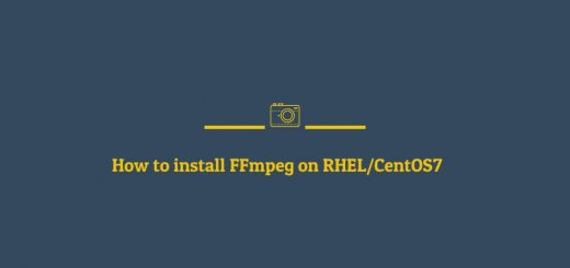 how to install FFmpeg on RHEL7