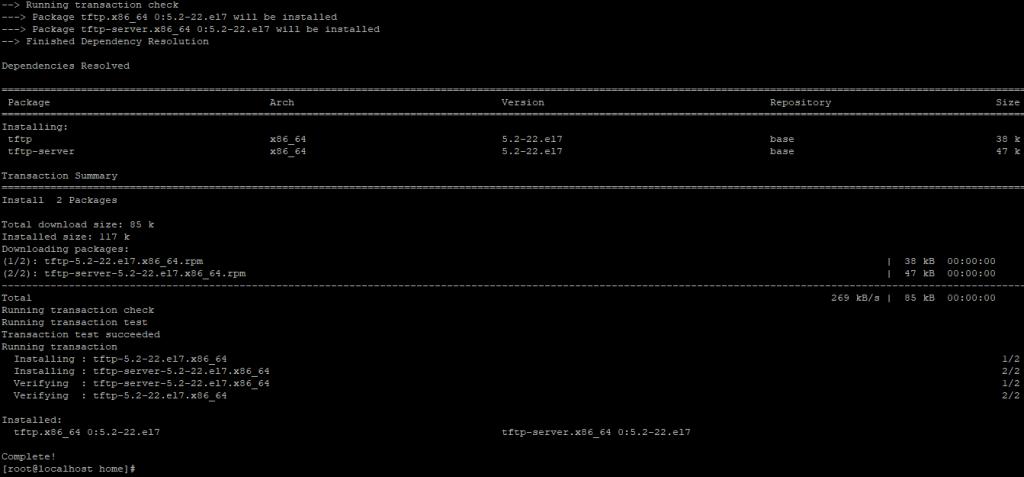 install TFTP